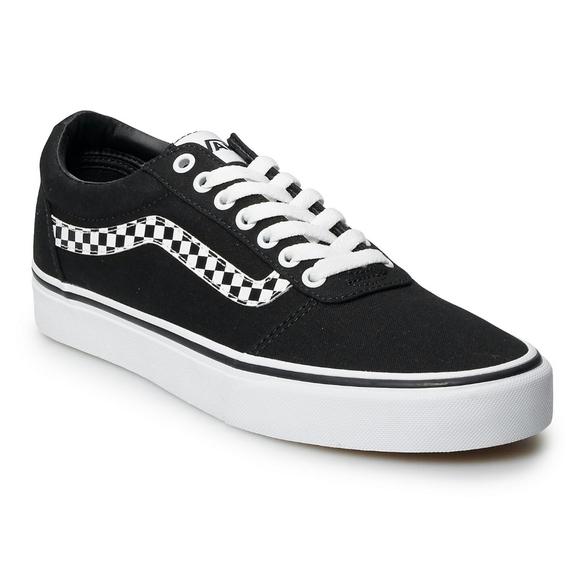 Nwt Vans Ward Dx Checkerboard Stripe
